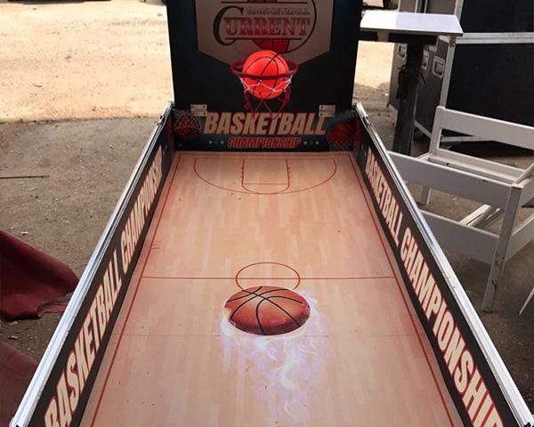 שולחן משחק כדורסל